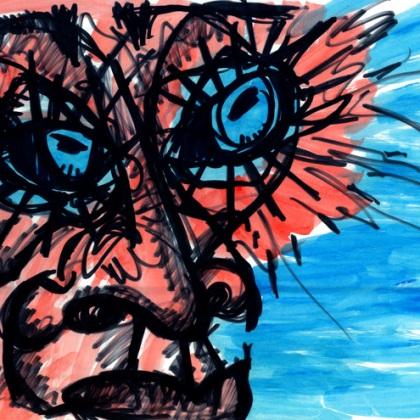 Eye Spatter, 2011.