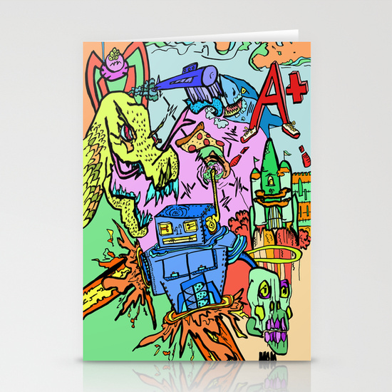 S6 Stationary Cards