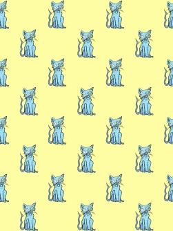Meow (Blue/Yellow)