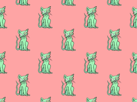 Meow (Green/Red)